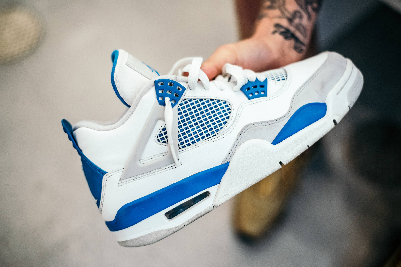 top fashion 53959 05814 Air Jordan 4 Retro  Military Blue  2012